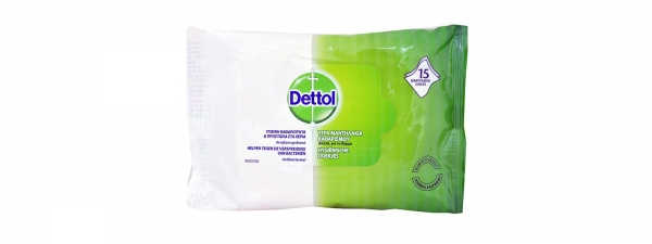 Wet wipes (15pcs.)